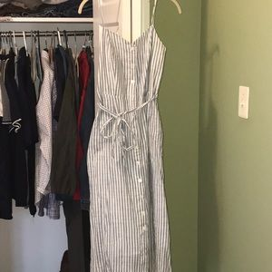 Who What Wear button front midi dress